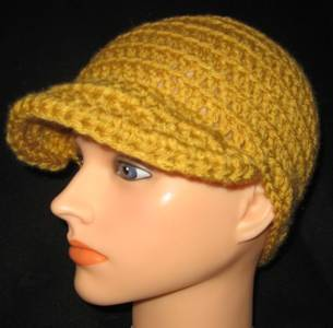 Newsboy Cap  - Gold