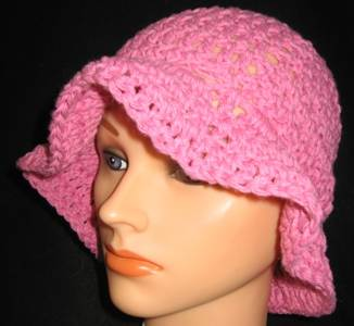 Floppy-pink Bucket Hat